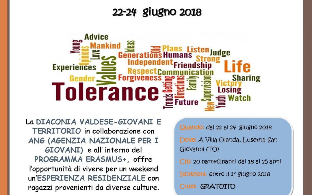"RESIDENZA INTENSIVA ""YES WEeCANd!"" 22-24 giugno 2018"