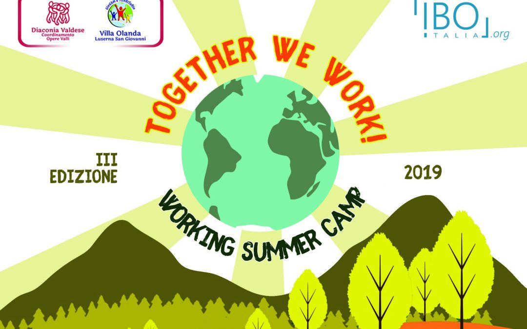 WORKING SUMMER CAMP_ 5 -12 agosto 2019